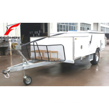 New design improved Hard Floor (front turning cover)Camper Trailer (HFC12)