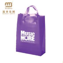 Logotipo feito sob encomenda que imprime sacos plásticos biodegradáveis da embalagem de Malásia para a roupa / calças de brim