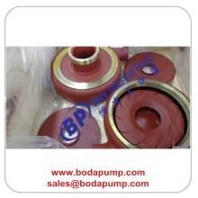 Red Slurry Pump Impulver Slurry Pump Liners