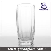 Gobelet et table de verre soufflé à machine (GB050212H)