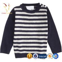 Mais recente personalizado malha lã suéter garota foto