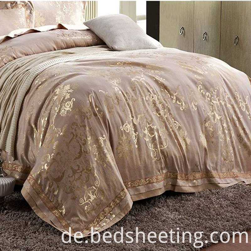 Cotton Jacquard King Duvet Cover