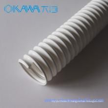 Tuyau flexible en PVC avec renforcement en acier