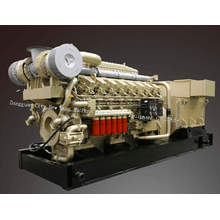 1500kVA Jichai Natural Gas Generator Set / Gas Power Generator Set (H16V190ZLT-2)