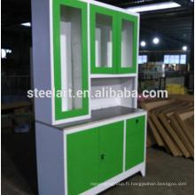 meubles philippines nouveau modèle en acier inoxydable armoires de cuisine