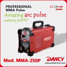 2016 new professional inverter MMA pulse arc welding machine 250amps
