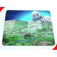 Custom Printed Decorative Cartoon Office Rubber Customize Mouse Pads With Oem / Odm