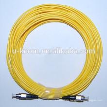 FC / FC SM Simplex Cable de fibra óptica