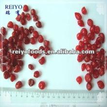 Cereja vermelha seca