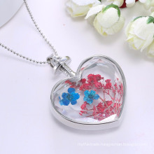 Fashion Heart Shape Jewellery Women Pendant Necklace Sweater Chain