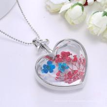 Мода В Форме Сердца Ювелирные Изделия Кулон Женщин Свитер Цепи Ожерелье