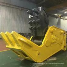Excavator attachments hydraulic shear