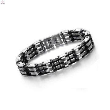 Bracelet de chaîne de moto en acier inoxydable de haute qualité, bracelet multifonction
