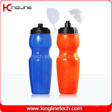Пластмассовая бутылка воды спорта, пластичная спортивная бутылка, бутылка воды воды 750ml (KL-6728)