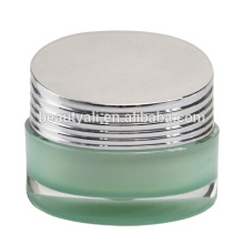 Luxurious shutter shape acrylic jars for skin care