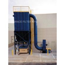 Pulse Jet long bag Dust Filter Bag housing