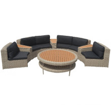 Garden Rattan Wicker Outdoor Furniture Patio Sectional Sofa Set
