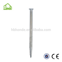 Hot dipped galvanized steel Q235 for Wooden house Ground Peg