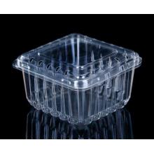Embalagem de frutas de recipiente plástico de morango