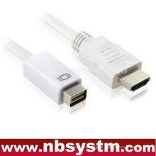 Mini cabo DVI para HDMI