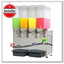 K687 32L Dispensador de bebida fría y caliente de cuatro cabezales