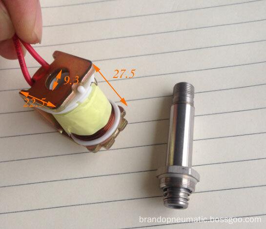 solenoid coil for car suspension system