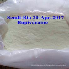 99% rohe Pulver Bupivacaine für Infitration Anästhesie CAS. Nr .: 2180-92-9