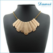 2015 gold stainless steel diamond jewelry necklace for banque