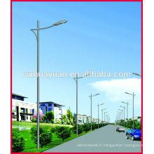 Poteau de lumière de poste extérieur