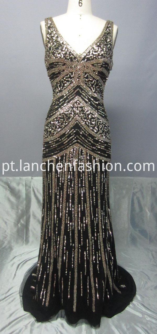 New Style Sequin Evening Gowns