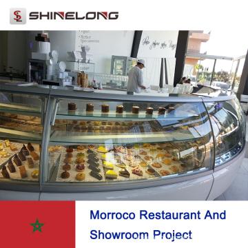 Projeto de restaurante e showroom do Morroco
