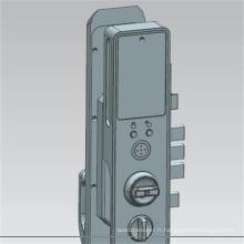 Serrure intelligente conçue de porte de machine de routeur de commande numérique par ordinateur adaptée aux besoins du client