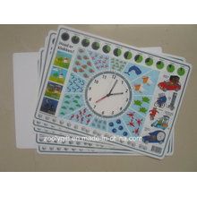 Fancy Turnplate Printing PP Placemat for Child