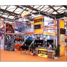 Shanghai factory export aluminium exhibition stand TWO STOREY BUILDING