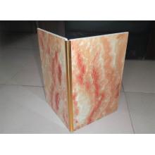 Декоративная алюминиевая Металлическая плитка отделка угловой полосы