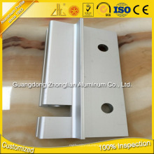 ISO 9001 Anodizing Extruded Profiles Aluminium CNC Alu Profile