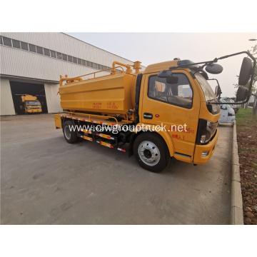 4x2 used vacuum sewage suction tanker truck