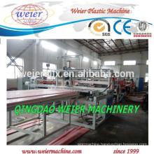 high output of PVC foam board making machinery