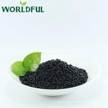 abono granulado de ácido húmico negro brillante global + aminoácido con NPK 12-3-3