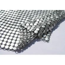 Tissu en tissu décoratif en forme de métal