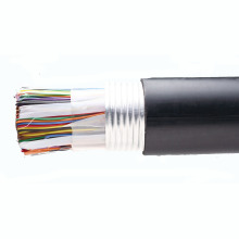 Cat3 Telephone Cable 20 Pairs Bare Copper Black