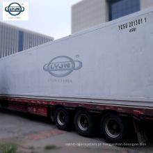Recipiente 40ft do refrigerador da sala fria de Tianjin LYJN para a venda