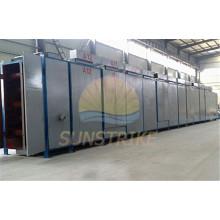Secador de banda de carbón de alta eficiencia con buen efecto de secado