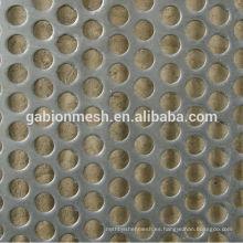 Malla metálica perforada / chapa perforada