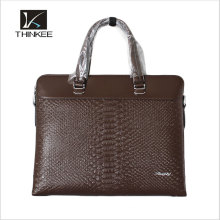 China Male Laptop Genuine Leather Bags handbag