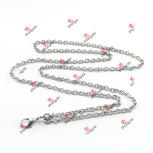Factory Price Custom Stainless Steel Rolo Chain for Necklace (CSR60104)