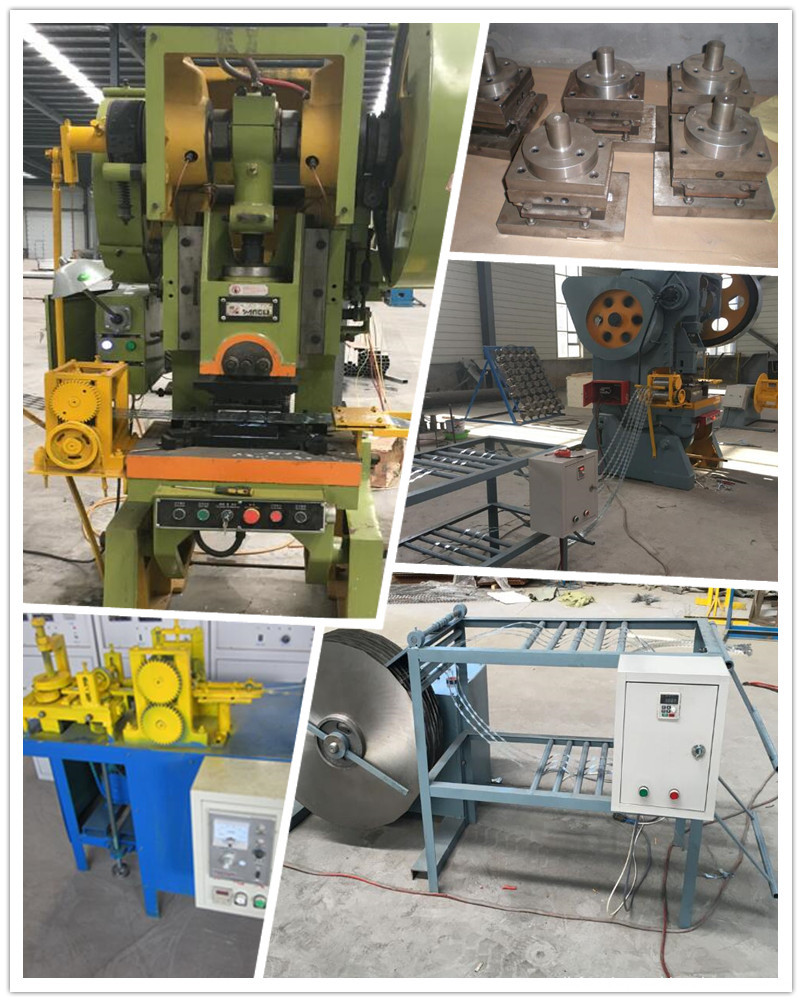 automatic razor barbed wire fence making machine