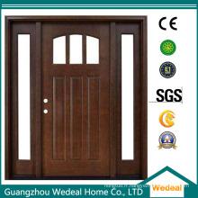 Personnaliser la porte avant en bois de Craftsman pour le projet de villa