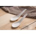 SP-1661 Haonai cuchara de cerámica de alta calidad, cuchara de sopa de cerámica