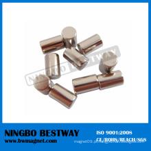 China 100 Mmm N52 geradores do ímã do cilindro do Neodymium